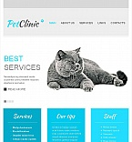Animals & Pets Facebook HTML CMS  Template 44884
