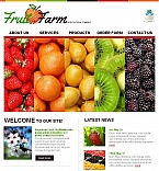 Agriculture Facebook HTML CMS  Template 44887