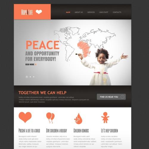 Peace - Responsive Drupal Template