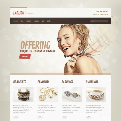 Labjou - WordPress Template based on Bootstrap