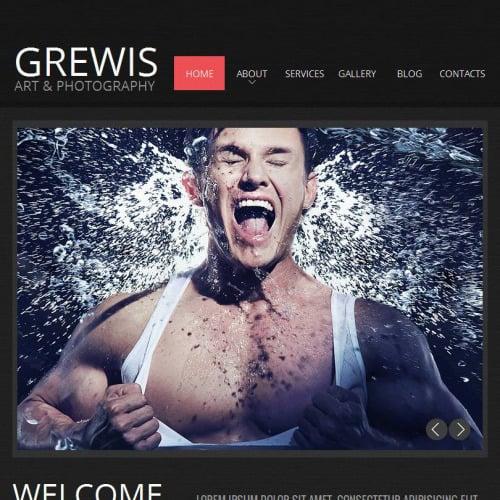 Grewis - Facebook HTML CMS Template