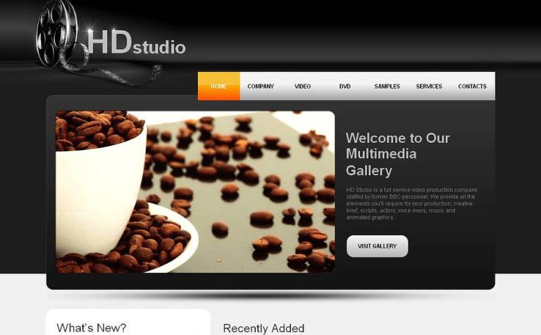 Plantilla Moto CMS HTML #44854 para Sitio de Galerías de vídeos