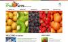 Prémium Gyümölcsök témakörű  Moto CMS HTML sablon New Screenshots BIG