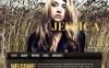 Premium Moto CMS HTML Template over Persoonlijke pagina New Screenshots BIG