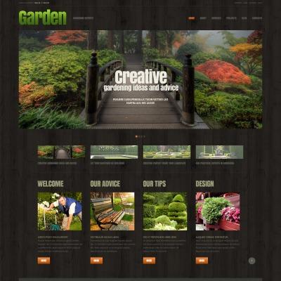 Garden Design Responsive WordPress Teması