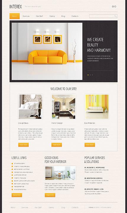 Drupal Template 44907 Main Page Screenshot
