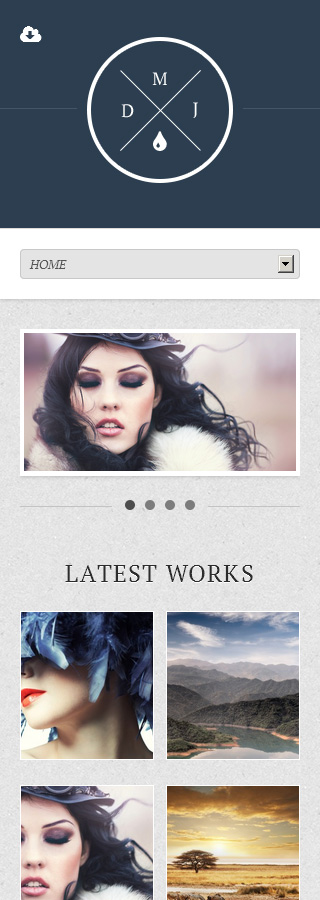 WordPress Theme/Template 44911 Main Page Screenshot