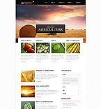 Agriculture Website  Template 44915