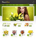 Flowers PrestaShop Template 44922