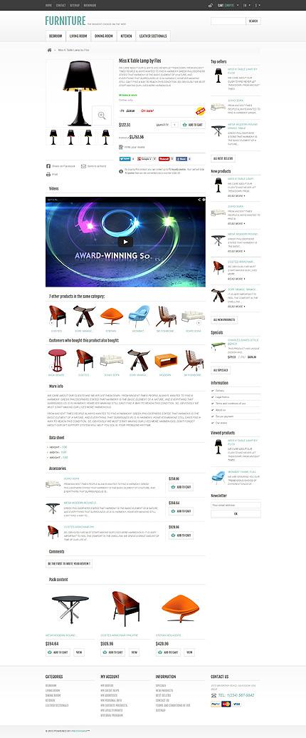 ADOBE Photoshop Template 44925 Home Page Screenshot