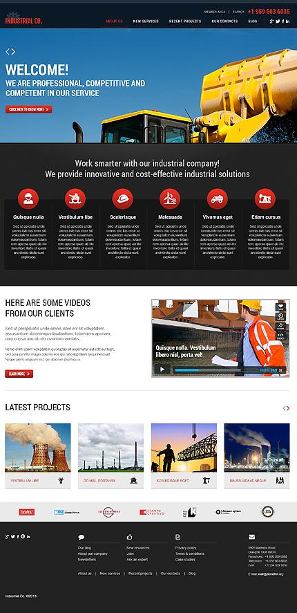 WordPress Theme/Template 44938 Main Page Screenshot