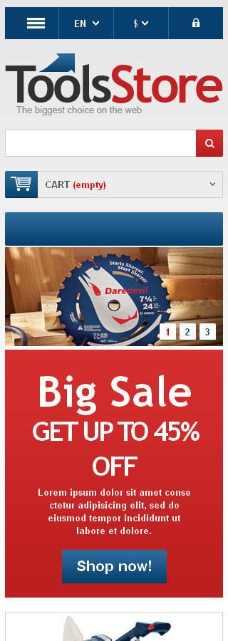 ADOBE Photoshop Template 44943 Home Page Screenshot