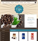 Cafe & Restaurant ZenCart  Template 44944