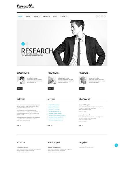 WordPress Theme/Template 44948 Main Page Screenshot