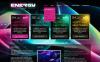 Bootstrap Hemsidemall för Natt klubb New Screenshots BIG