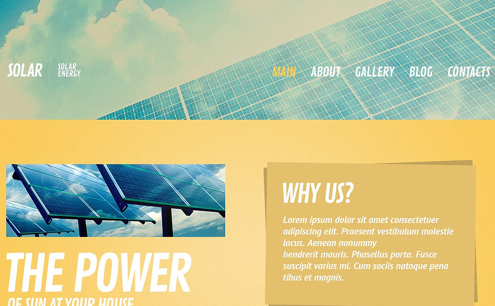 Bootstrap Website template over Zonne-energie New Screenshots BIG