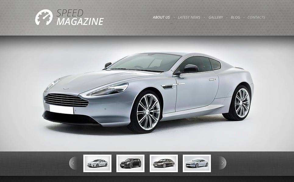 Bootstrap Arabalar  Web Sitesi Şablonu New Screenshots BIG
