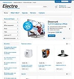 Electronics osCommerce  Template 44971