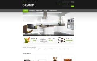 Furniture for Comfort VirtueMart Template