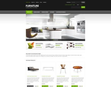 Furniture for Comfort VirtueMart Template