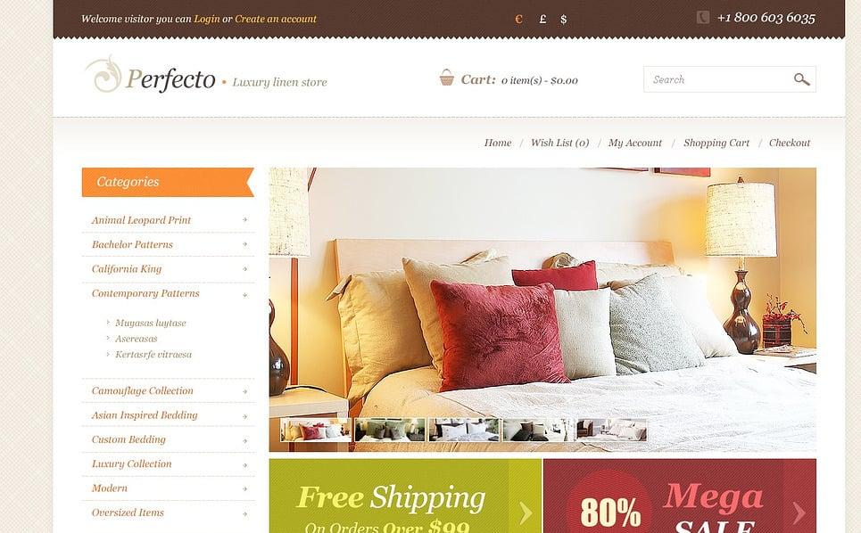 Template OpenCart  para Sites de Decoração de casa №44984 New Screenshots BIG