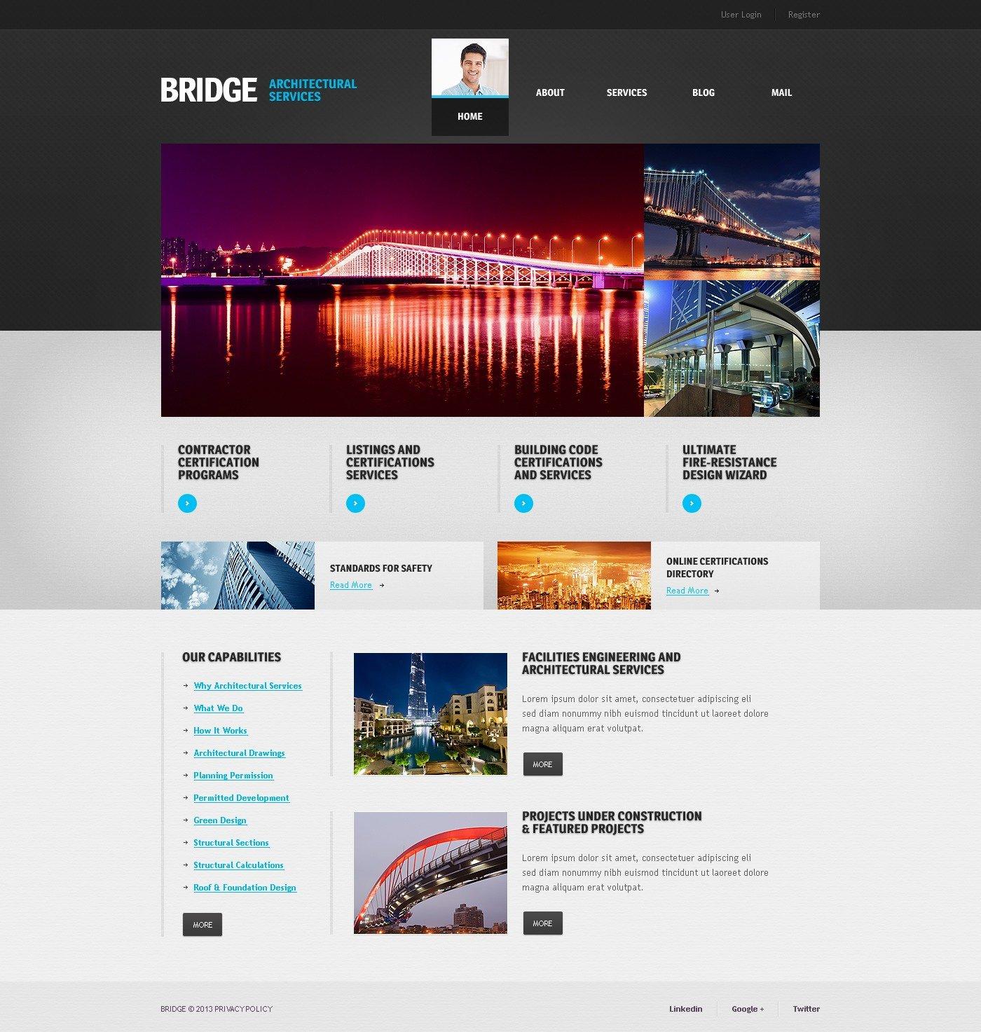 rchitectural Services Joomla emplate #44988 - ^