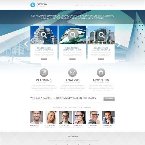 Oxusa - HTML5 Drupal Template