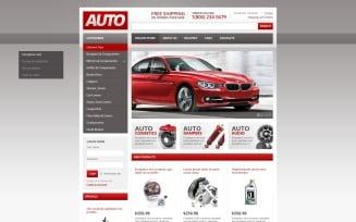 Auto Spares VirtueMart Template