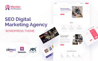 Menter - SEO Digital Marketing Agency WordPress Theme