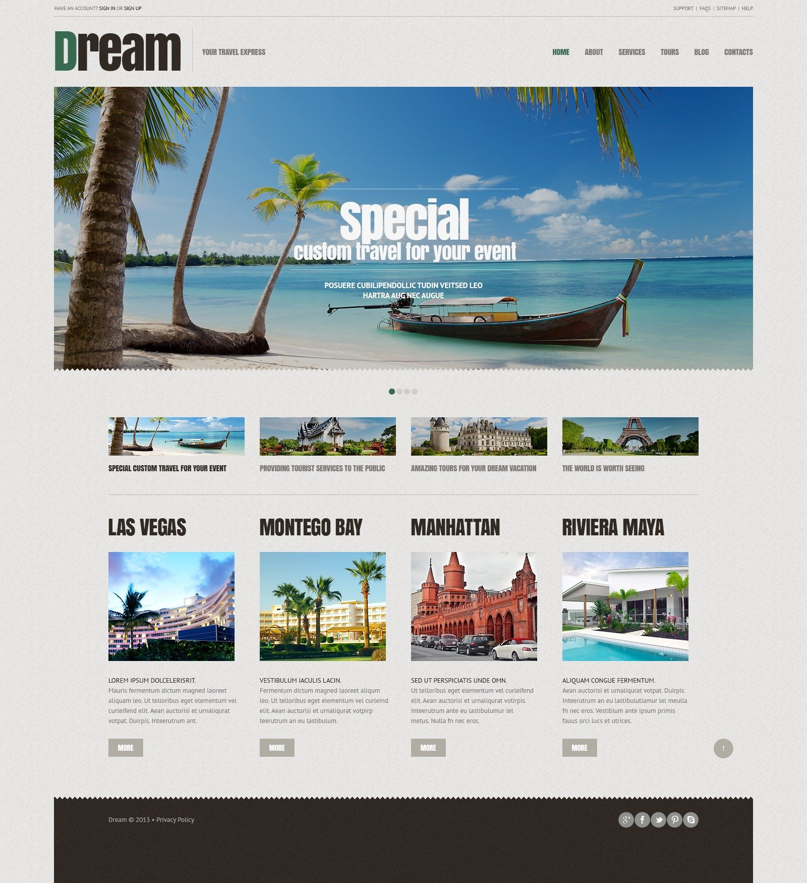 travel agency responsive wordpress theme 44903. Black Bedroom Furniture Sets. Home Design Ideas