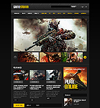 Games Website  Template 45003