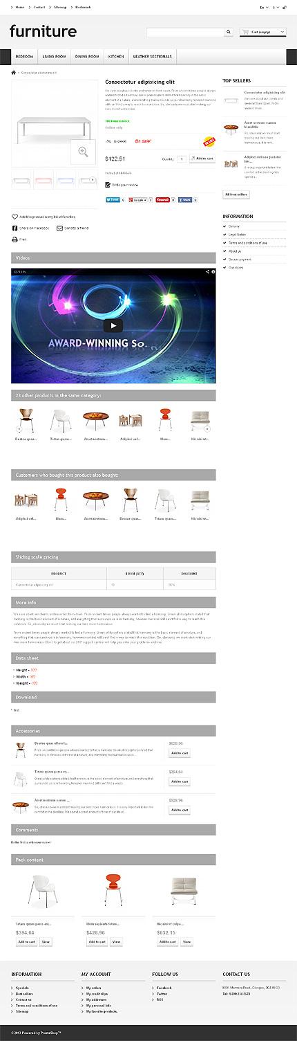 ADOBE Photoshop Template 45011 Home Page Screenshot