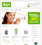 Medical OpenCart  Template 45025