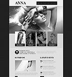 Art & Photography Website  Template 45029