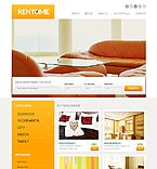 Real Estate Website  Template 45034
