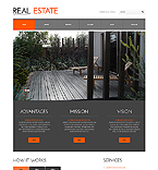 Real Estate WordPress Template 45036