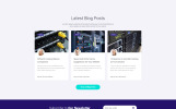 MasterHost - Hosting Multipage Clean HTML Bootstrap Website Template