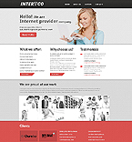 Communications Website  Template 45044