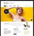 Art & Photography Website  Template 45069