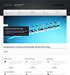 Security Website  Template 45076