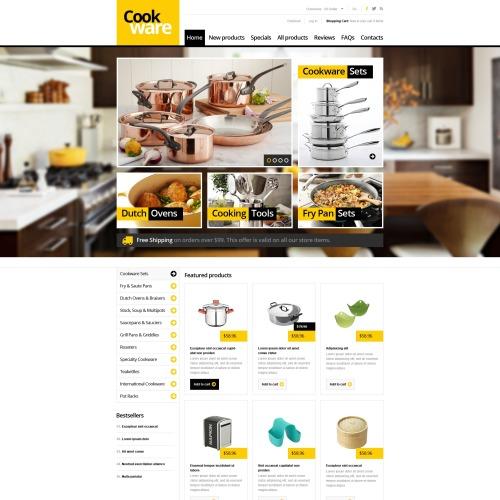 Cookware - ZenCart Template