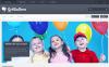 "PrestaShop шаблон ""Responsive Balloons Store"" New Screenshots BIG"