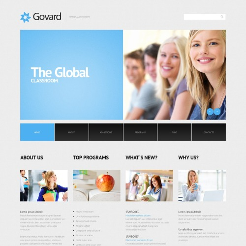 Govard - WordPress Template based on Bootstrap