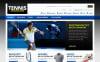 "ZenCart шаблон ""Tennis Store"" New Screenshots BIG"