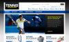 "ZenCart Vorlage namens ""Tennis Store"" New Screenshots BIG"