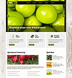 Agriculture Moto CMS HTML  Template 45101