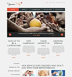 Charity Moto CMS HTML  Template 45108