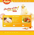 Agriculture Moto CMS HTML  Template 45113