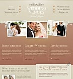 Wedding Facebook HTML CMS  Template 45127