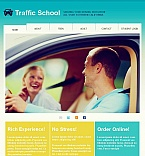 Education Facebook HTML CMS  Template 45129